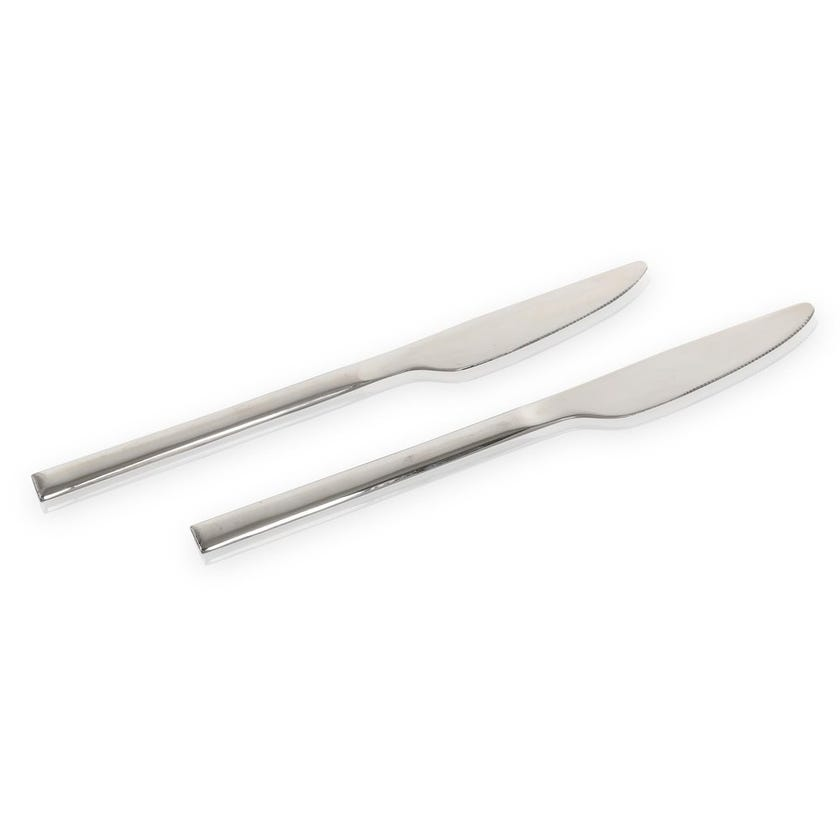 Pearl Stainless Steel Table Knife - Set of 2