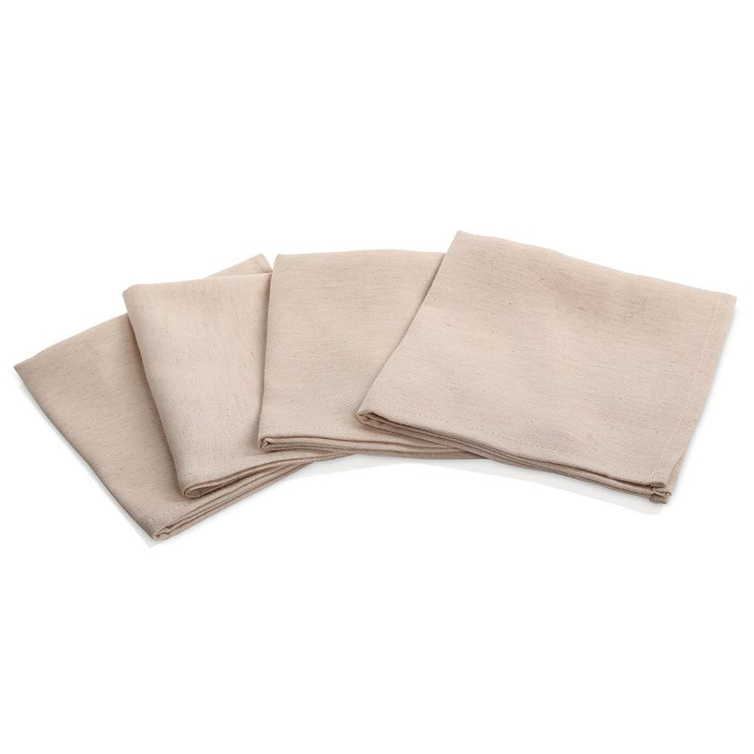 Poly Linen Table Napkin - Nature