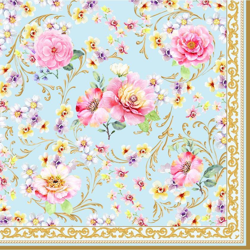 Majestic Flower Fashion Paper