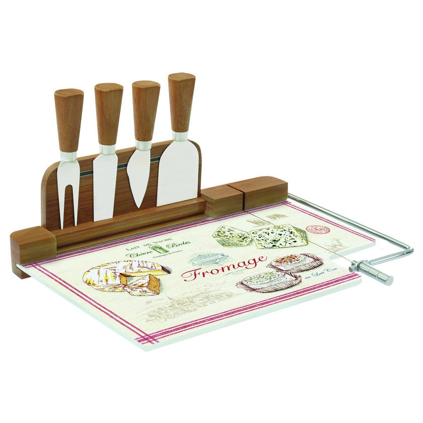 Fromage 4-Knife Board
