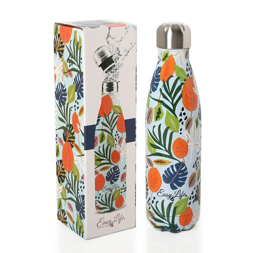 Tropical Vibes Vacuum Insulated Bottle, Multicolor - 500ML