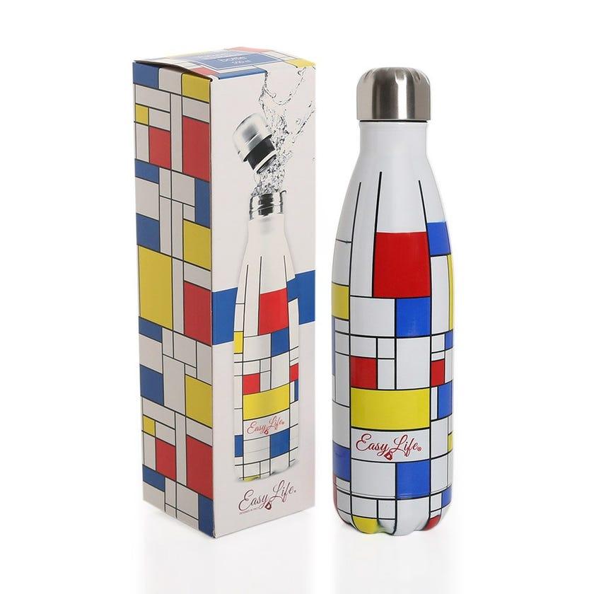 Mondrian Vacuum Insulated Bottle, Multicolor - 500ML