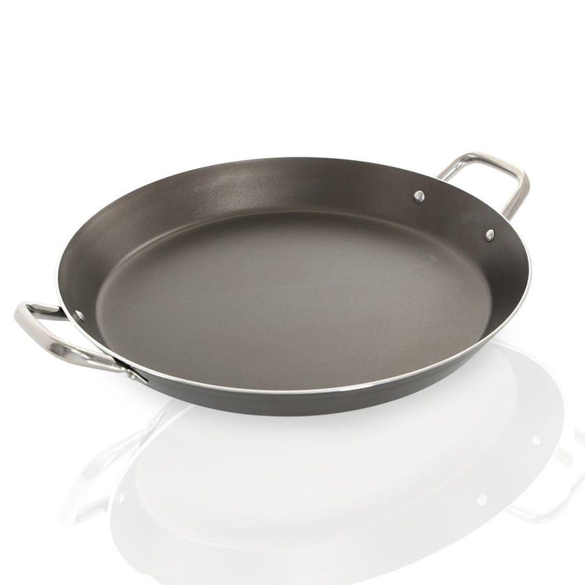 Chefline Aluminium Non-Stick Paella Pan - 38 cms