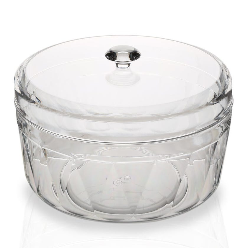 Resin Big Salad Bowl with Cover