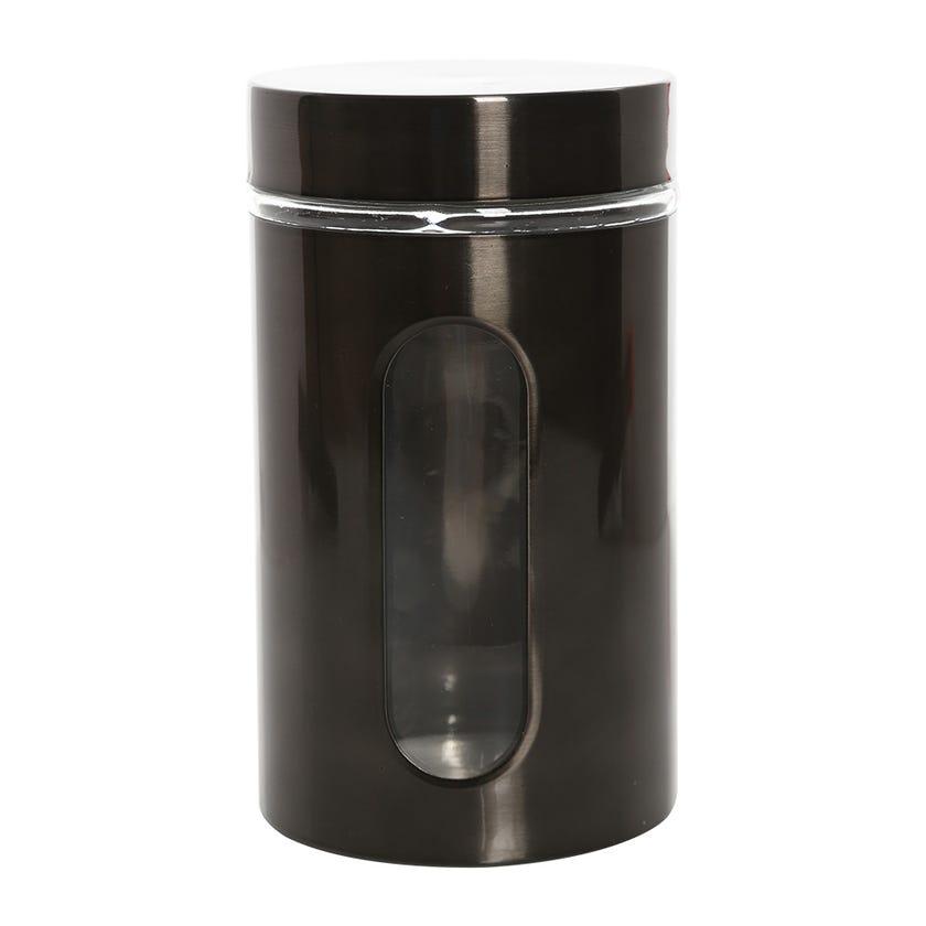 Glass Jar, Grey