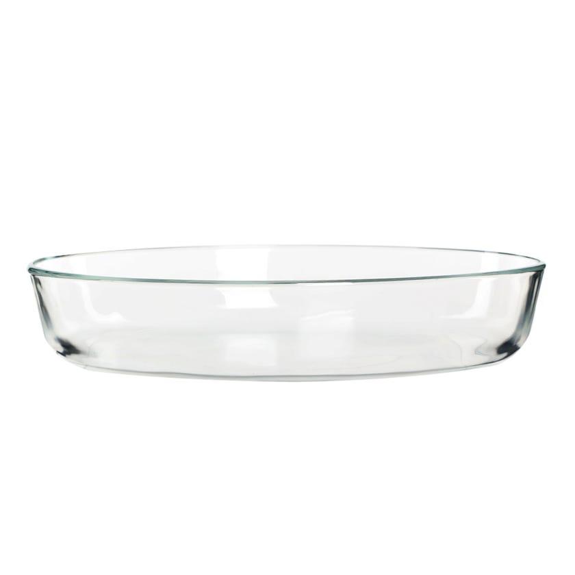 Tempered Sabot Oval Dish - 35x27