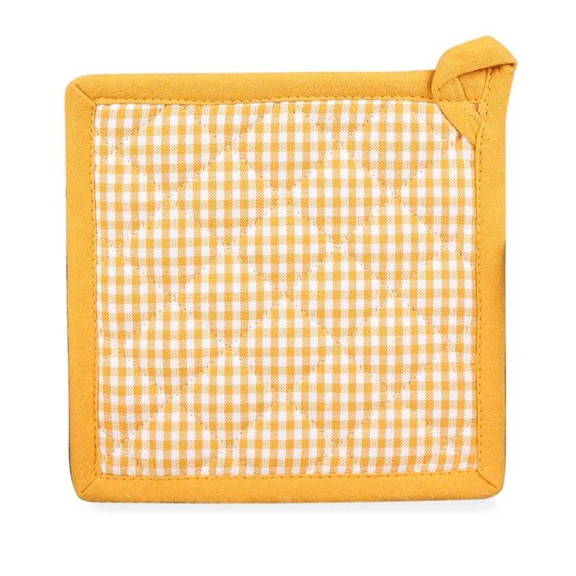 Karene Pot Holder - Yellow