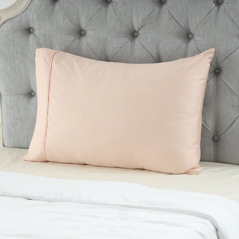 Bamboo Pillowcase Set, Blush – 75x50 cms