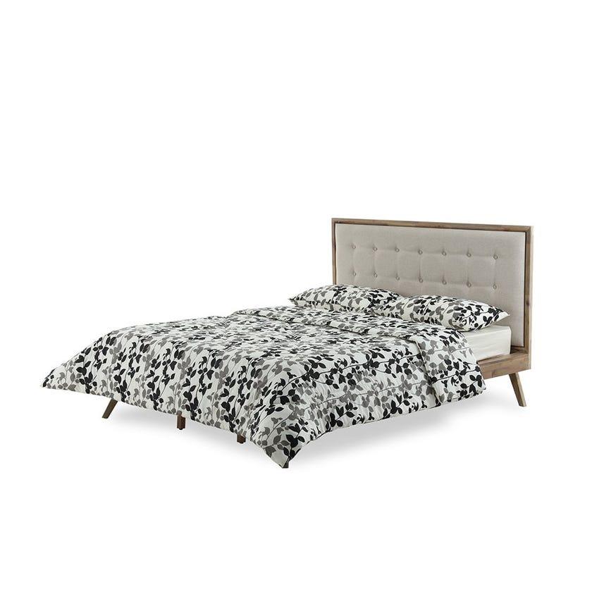 Majestic Black Comforter , 144 TC, 230 x 220 cms