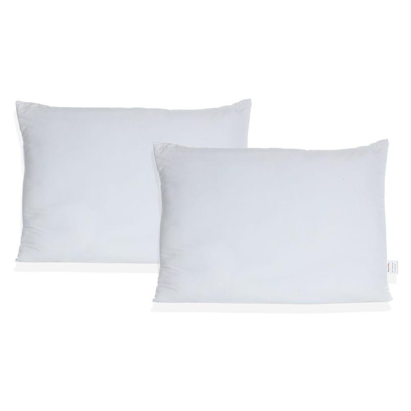 Promo Hollow Fibre Pillow, 70 x 50 cms, White, 2-Piece