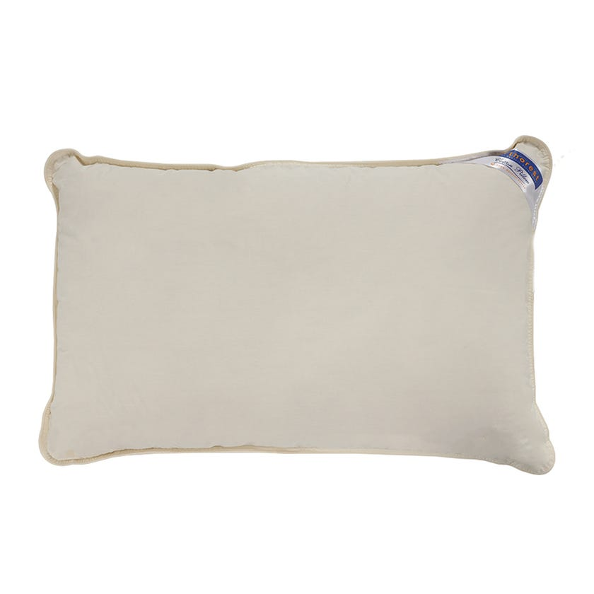 Orthopaedic Cotton Pillow, 48 x 74 cms, Pure White