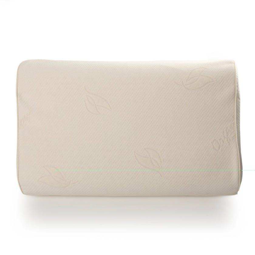Latex Contour Pillow, Cream