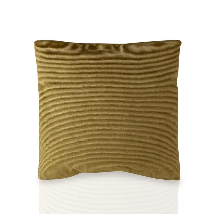 Cushion (Yellow, Polyester, 45 x 45 cms)