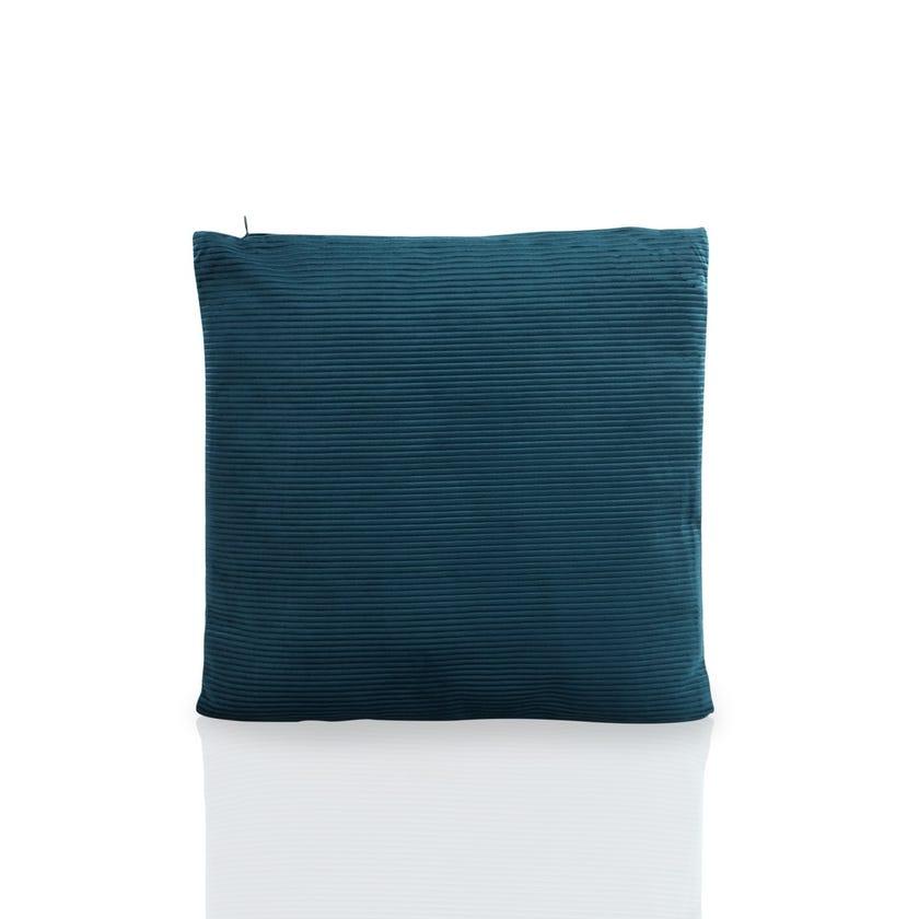 Cushion (Teal, Polyester, 45 x 45 cms)