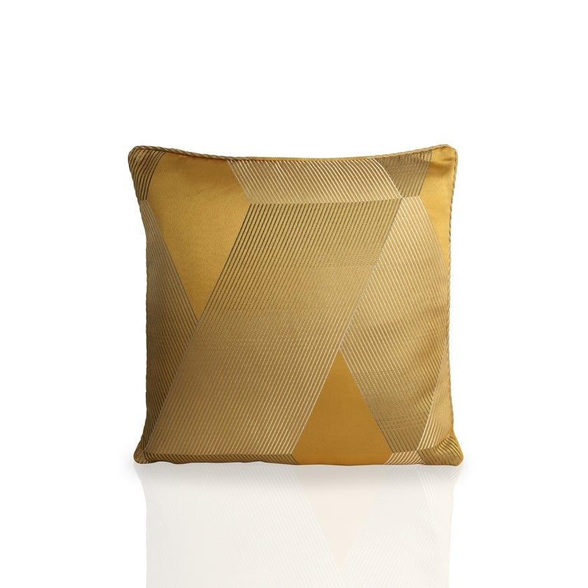 Small Belfast Cushion (Mustard, Polyester, 45 x 45 cms)