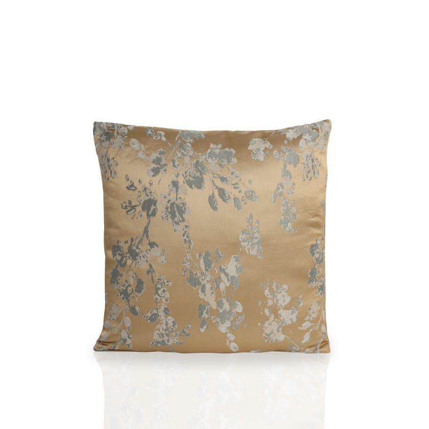 Small Watercolour Cushion (Biscuit, Polyester, 45 x 45 cms)
