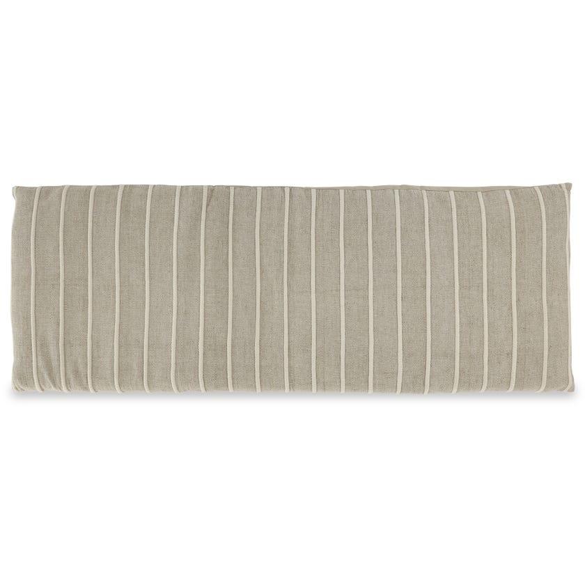 Zanzibar Stripe Futon, Natural – 65x180 cms