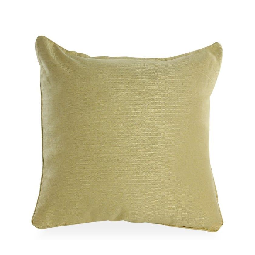 Delton Polyester Cushion Cover, 60 x 60 cms, Lemon