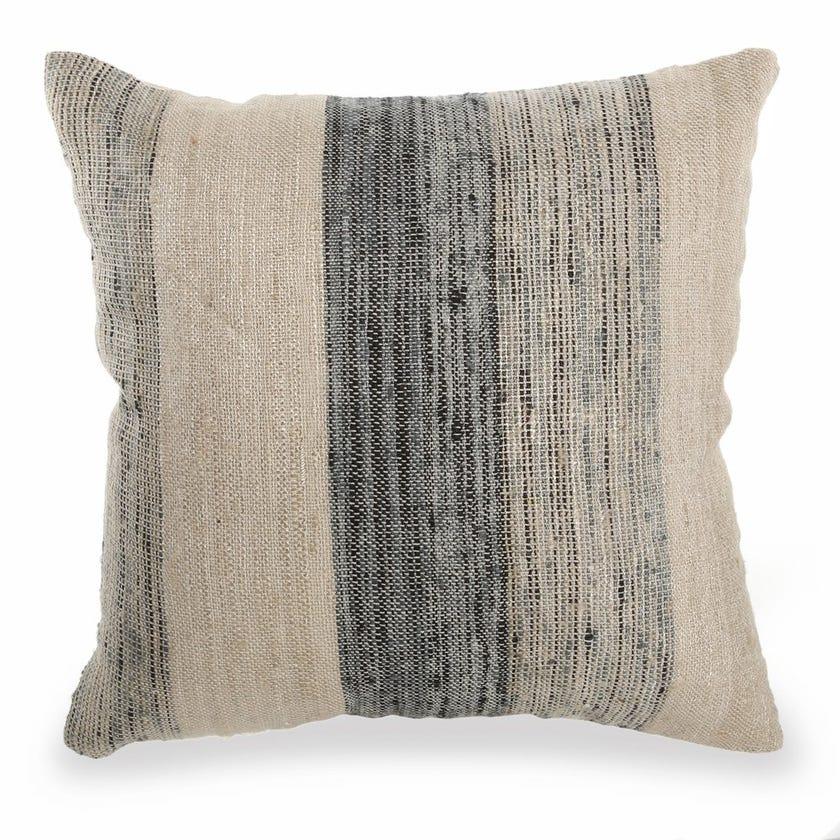 Aysa Neo Cushion Cover, Natural and Grey – 45x45 cms
