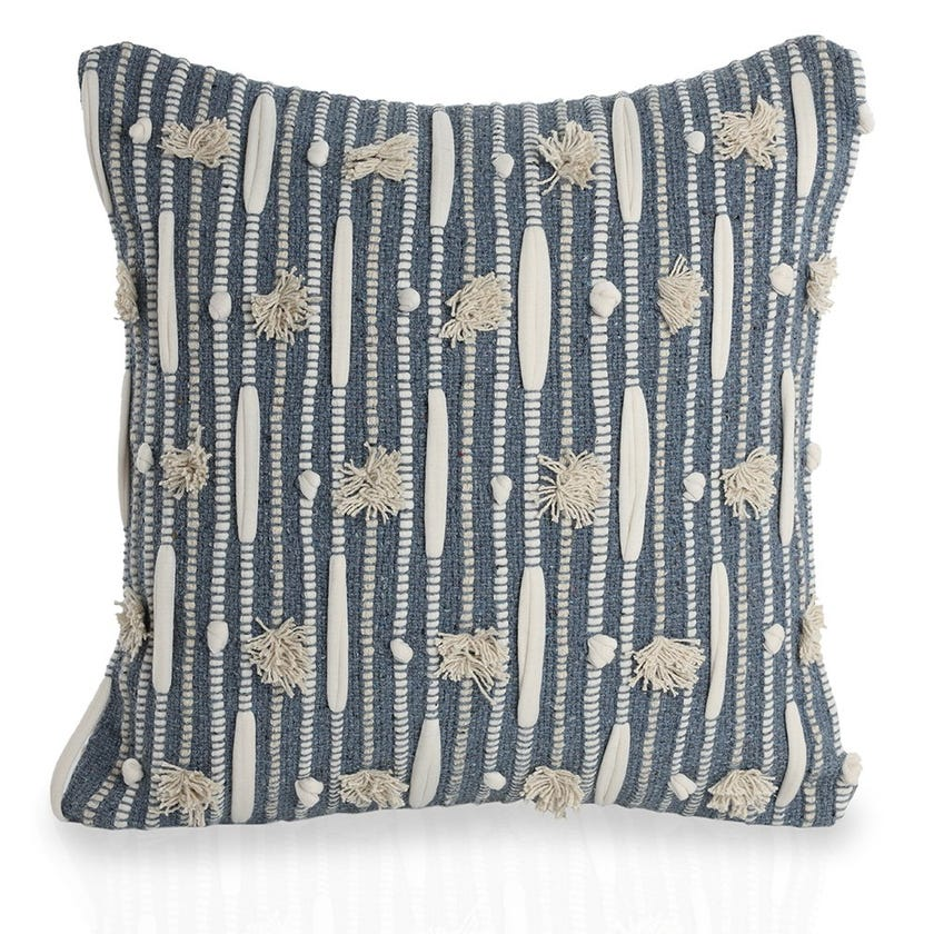 Molly Cushion Cover, Blue – 45x45 cms