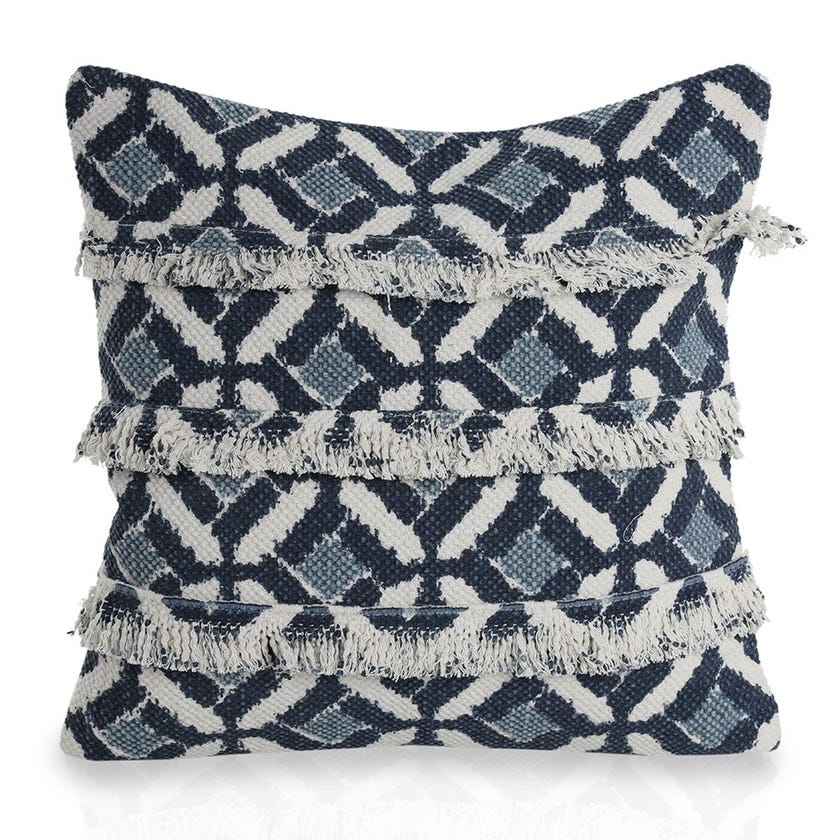 Morris Cushion Cover, Blue – 45x45 cms