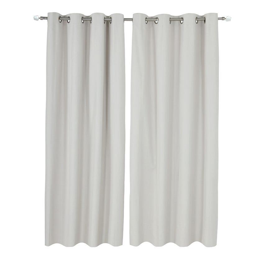 Solar Curtain, 300 X 140 cms, Ivory