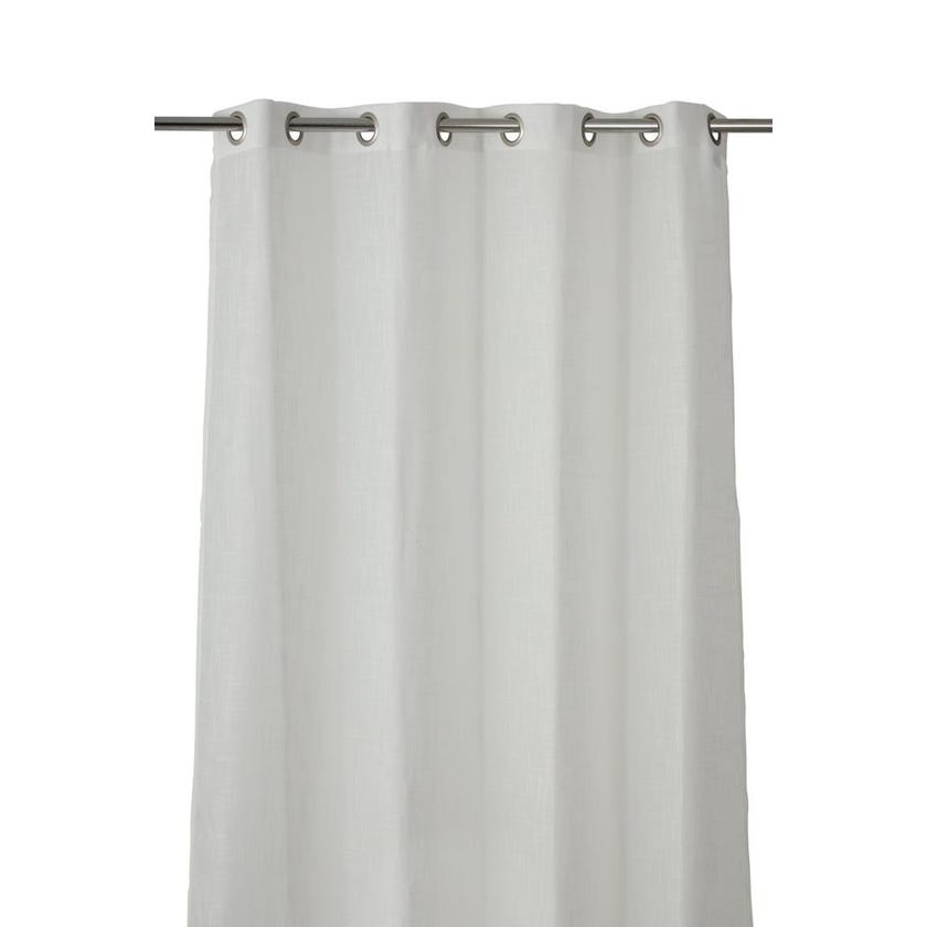 Sicon Polyester Grommet Curtain, 140 x 300 cms, Taupe