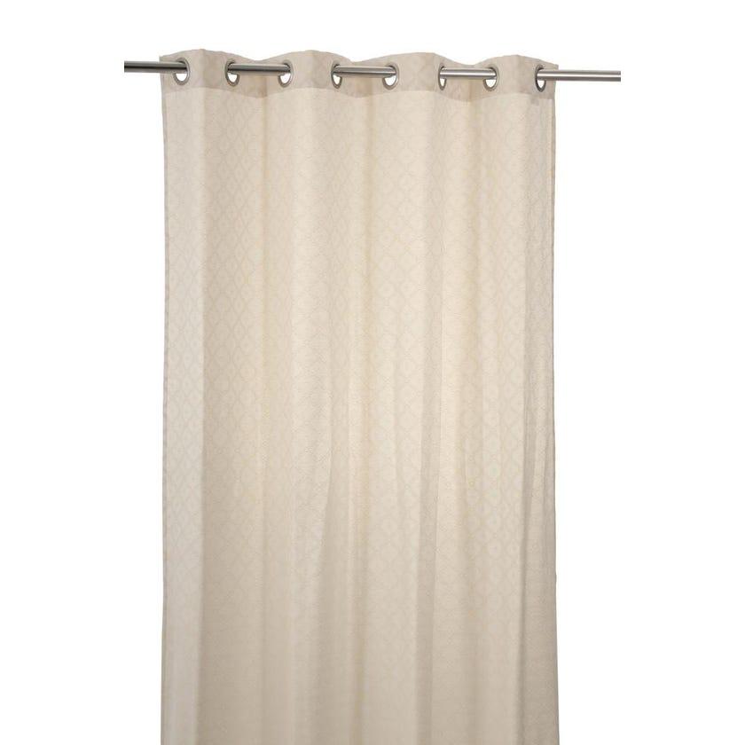 Maxx Cotton Curtain, 140 x 240 cms, Natural