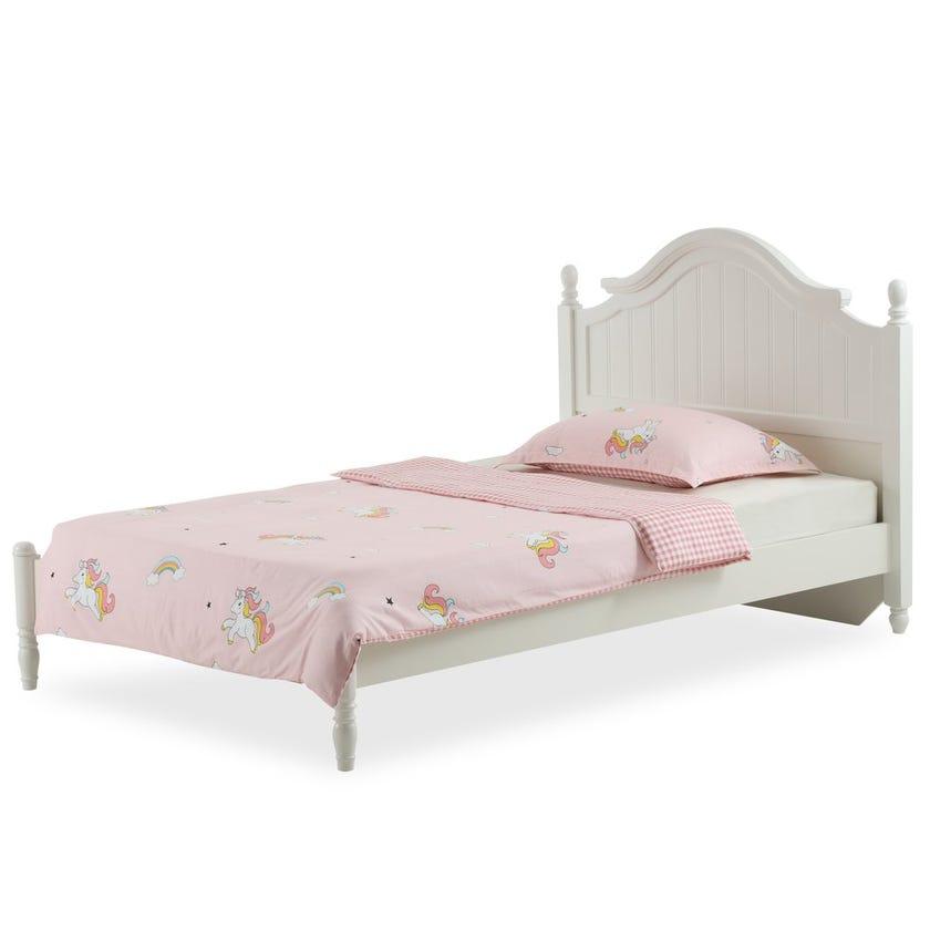 Fly Unicorn Kids Duvet Cover Set, Pink – 200x135 cms