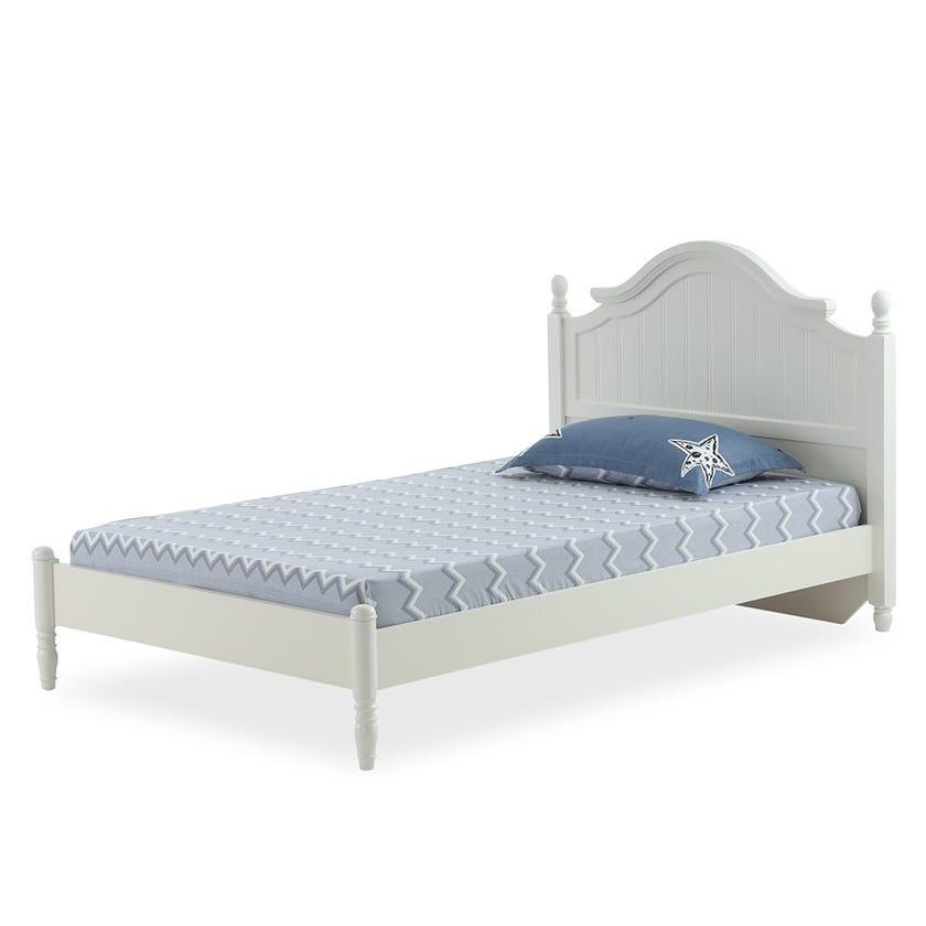 Blue Stars Kids Fitted Sheet Set, Blue & White – 200x120 cms