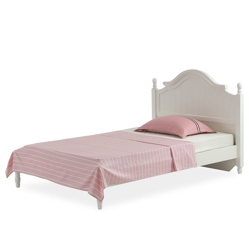 Grace Kids Flat Sheet Set, Pink – 230x170 cms