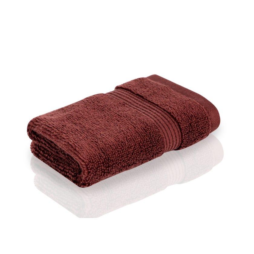Easy Care Face Towel, Chocolate - 30 x 30 cms