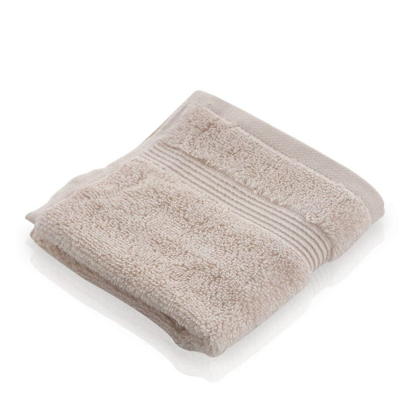 Easy Care Face Towel, Ivory - 30 x 30 cms