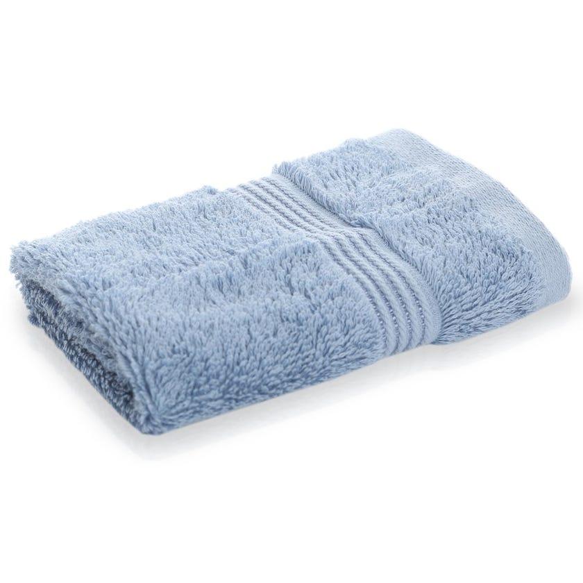 Luxuria Pima Face Towel, Denim