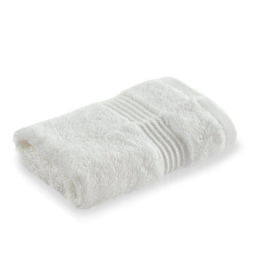 Luxuria Pima Face Towel, White