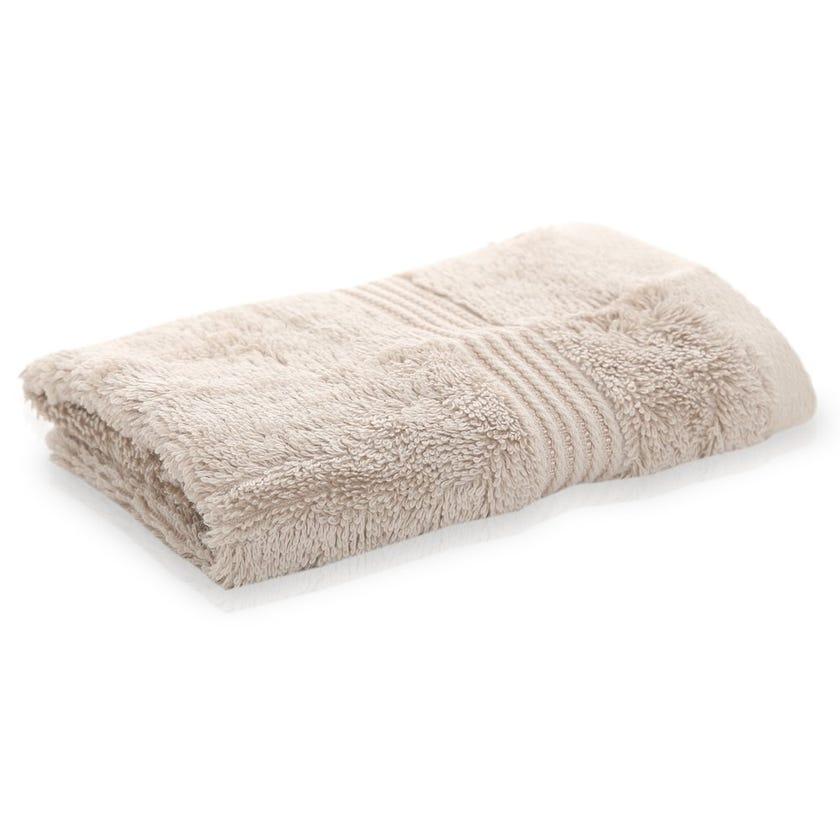 Luxuria Pima Face Towel, Stone