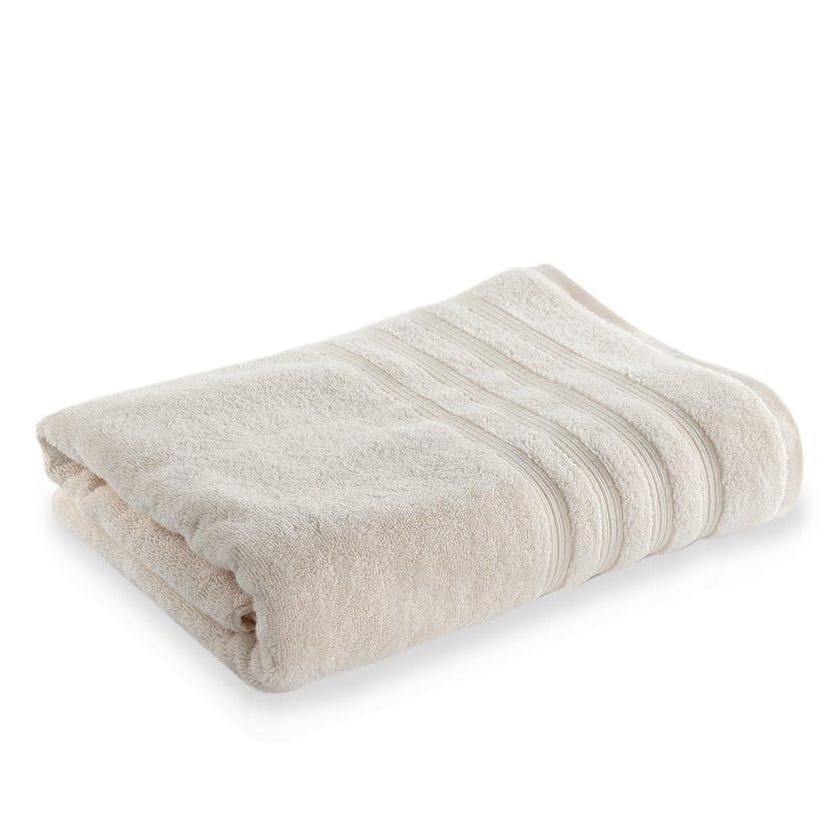Ritzy Cotton Bath Sheet, White - 90 x 150 cms