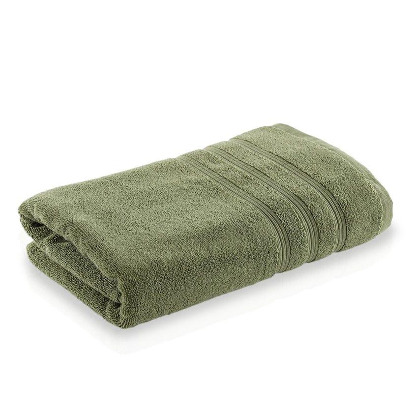 Ritzy Cotton Bath Sheet, Green - 200 x 220 cms