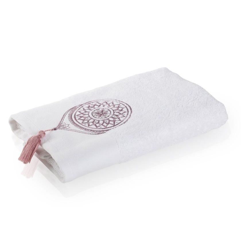 Cosmic Hand Towel, White - 80 x 50 cms