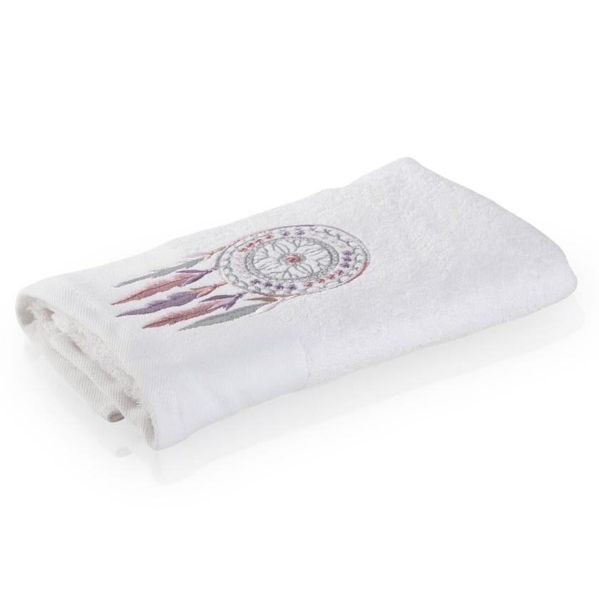 Resfeber Hand Towel, White - 80 x 50 cms