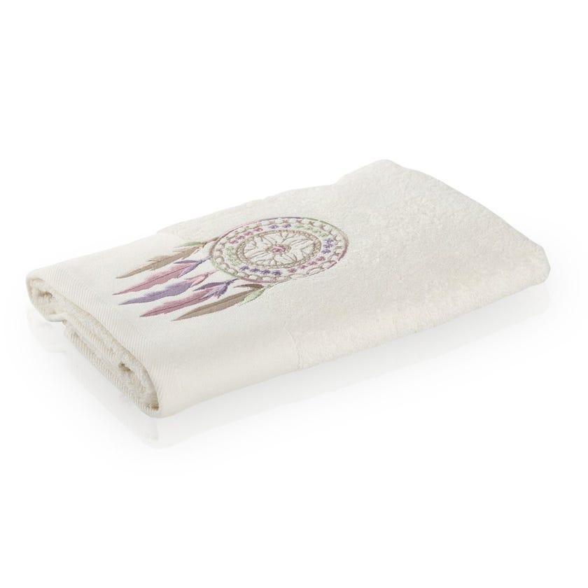 Resfeber Hand Towel, Cream - 80 x 50 cms