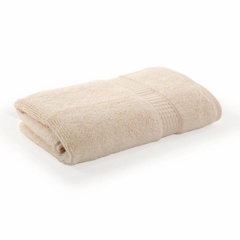 Bamboo Zero Twist Hand Towel, Custard – 60x40 cms