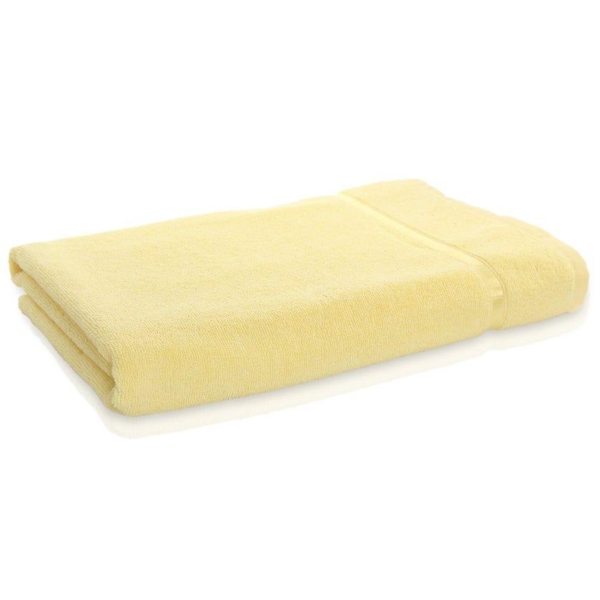Rema Aroma Cotton Bath Sheet, Butter – 160x90 cms
