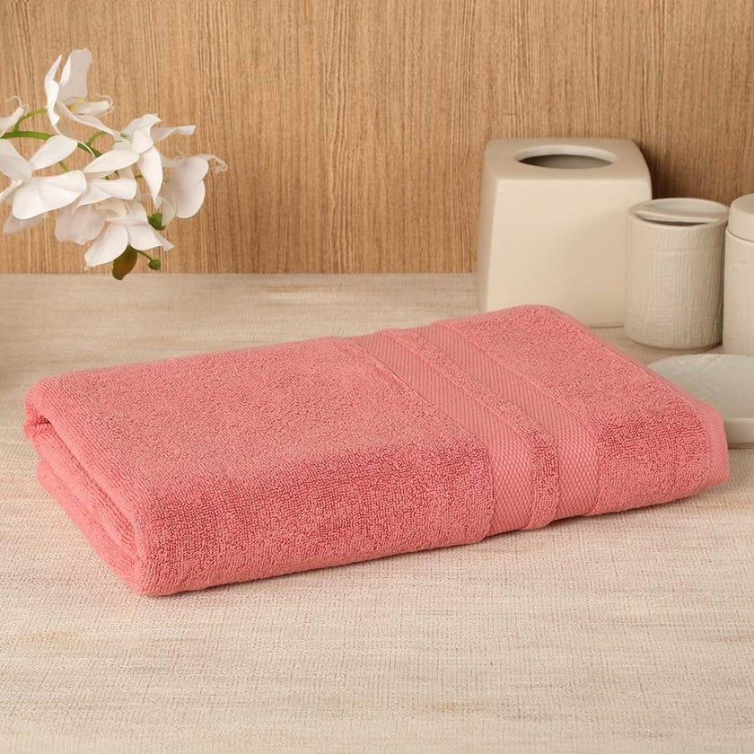 Antibacterial Bath Sheet, Blush – 160x80 cms