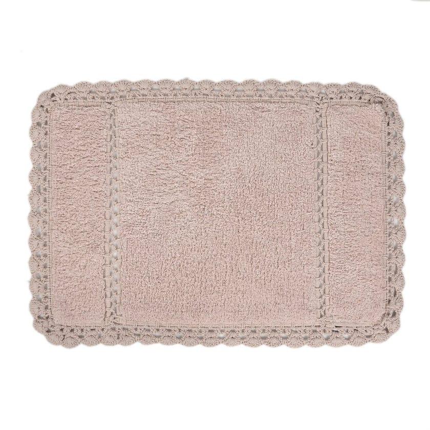 Lorinda Bath Mat, Pink - 60x90 cms