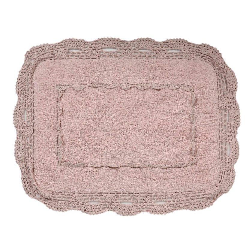 Anita Bath Mat, Pink - 50x70 cms