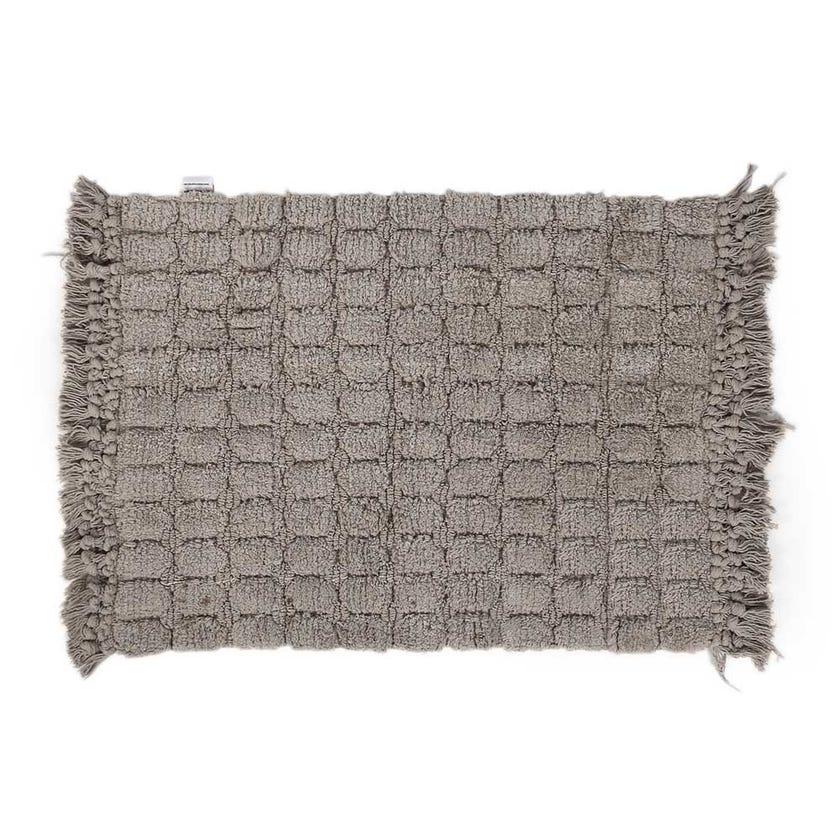 Broadway Bath Mat, Grey - 50x70 cms