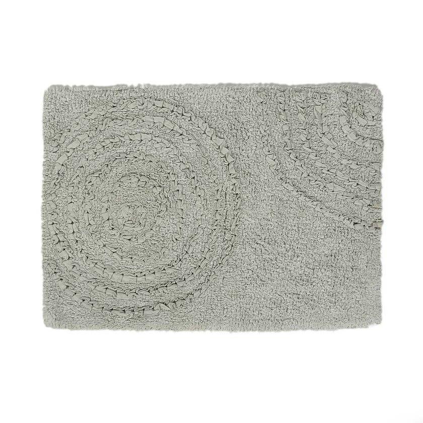 Capri Bath Mat, Aqua - 50x70 cms