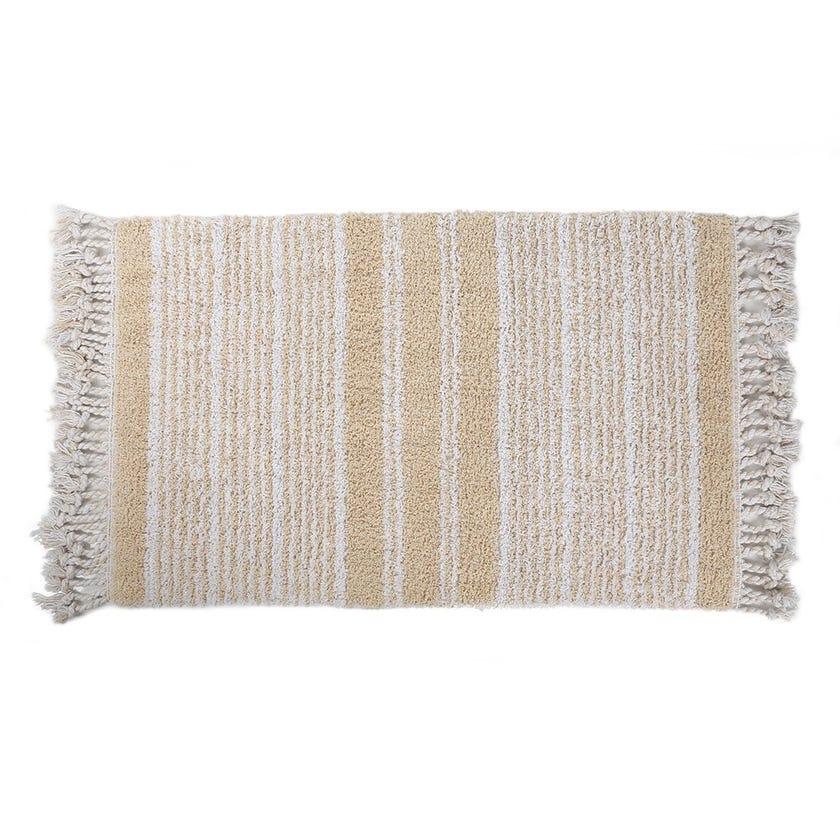 Relax Bath Mat, Beige - 50x70 cms