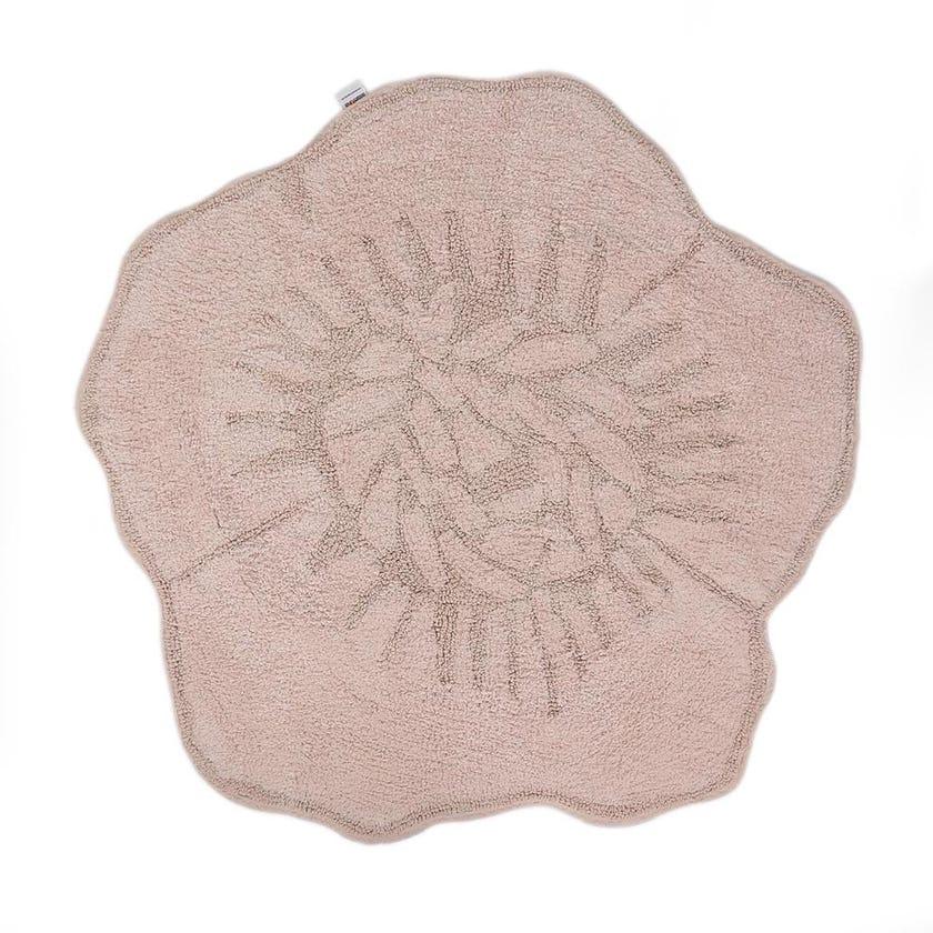 Rosalinda Bath Mat, Pink - 100x100 cms